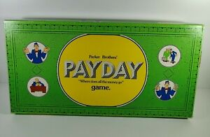 Payday Board Game Parker Brothers 1974 Complete