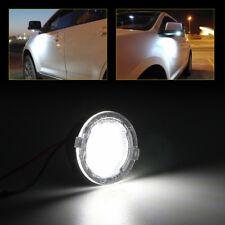 2X Weiß LED Seitenspiegel Pfütze Leuchte Für Lincoln MKZ MKS MKX MKT Navigator