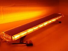 "volcano LED recovery lightbar 1200mm 47"" ultra bright amber warning strobe light"
