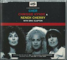 CHER, CHRISSIE HYNDE, NENEH CHERRY & ERIC CLAPTON - LOVE CAN BUILD A BRIDGE CD