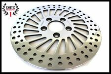 HARLEY REAR BRAKE DISC ROTOR SOFTAIL SPORTSTER DYNA Polished 2000/2014