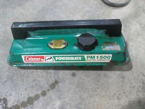 Coleman Powermate PM1500 generator gas tank