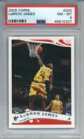 2005-06 Topps LeBron James #200 Cleveland Cavaliers PSA 8 (5307)