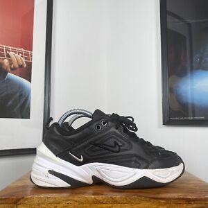 Womens NIKE M2K TEKNO Leather Chunky Sneaker Trainers Black/White US7.5/UK5/38.5