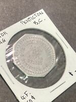 Token Vintage Coin Penticton B.C. Co-Op Stores In Coin Token  P7