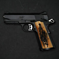 DURAGRIPS - Fullsize Gov't Commander Colt Kimber  Sig S&W 1911 Grips - FAUX STAG