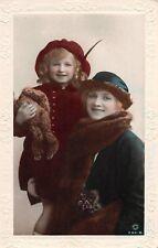 POSTCARD  ACTRESSES GLADYS COOPER & CHILD