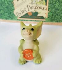 """""""Belly Button!"""" Whimsical World of Pocket Dragons by Real Musgrave with Box"""