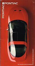 BIG 1995 Pontiac Brochure: FIREBIRD TRANS-AM,GRAND PRIX,AM,BONNEVILLE,SSEi,SPORT