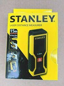 STANLEY 15M LASER DISTANCE MEASURE TLM50