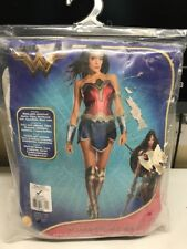 Wonder Woman Movie Adult Costume Red & Blue Strapless Fancy Dress Rubies Small
