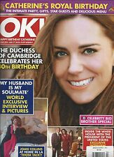 Ok Magazine Kate Middleton Joan Collins Barack And Michelle Obama White House