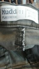 Mudd juniors army jeans sz 11 high rise utility jegging