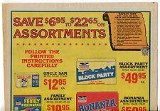"""1987 Vintage Sales Sheet: """"FREEDOM FIREWORKS"""""""