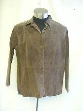 Hip Length Regular Size Suede Coats & Jackets for Women