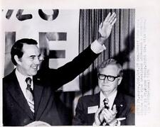 Ft. Wayne,Ind: Sen. Robert Dole can. for vice president w. Gov.O.BowenNews Photo