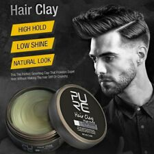 Men Original Clay Hair Coloring Wax Styling High Hold Low Shine Pomades 80ML