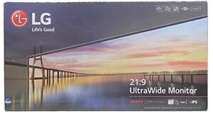 "LG 34 Inch Monitor 21:9 UltraWide FreeSync (2560 x1080) IPS 34"" Monitor 34UM68-P"