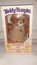 Teddy Ruxpin In Box With Papers