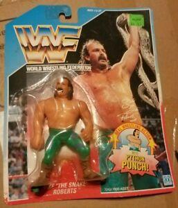 vintage WWF Jake The Snake Roberts 1990 in pkg