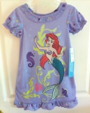 NEW Disney Store Princess Ariel Purple Nightgown 2/3 NWT The Little Mermaid