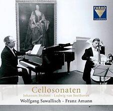Cello Sonatas - Ludwig van Beethoven, Johannes Brahms, New Music