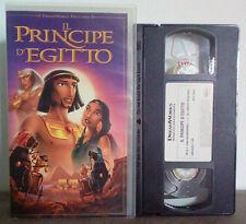 VHS FILM Cartoni Animati IL PRINCIPE D'EGITTO dreamworks DVS 70845 no dvd(VHS9)