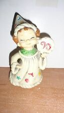 VINTAGE JOSEF ORIGINALS ZODIAC FIGURINE ~ ARIES  RAM  NO SCROLL FREE SHIPPING