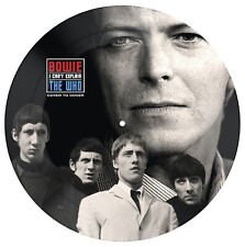 """DAVID BOWIE VS THE WHO 'COVER TO COVER / I CANT EXPLAIN' LTD 7"""" PICTURE DISC NEW"""