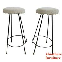 Available AMAT-3 Cooper Bar Counter Leather Stools Spain Knoll Herman Miller 20