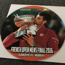 2016 French Open Men's Final Novak Djokovic vs. Andy Murray DVD