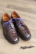 Alden #990 Color #8 Shell Cordovan Plain Toe Shoes Sz. 12 $667 Brooks Brothers
