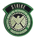 "Agents of SHIELD TV STRIKE Force - Grey - 3.5"" Logo Patch- FREE S&H (ASPA-021)"