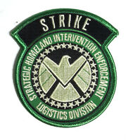 """Agents of SHIELD TV STRIKE Force 3.5"""" - Green - Logo Patch - FREE S&H (ASPA-022)"""