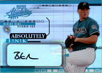 2002 Absolute Memorabilia Absolutely Ink #6 Blaine Neal AUTO - NM-MT