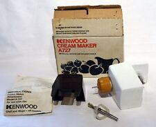 Kenwood Chef Cream Maker Attachment A727 fits A701 & A901 Models