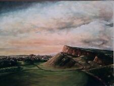 Edinburgh Castle View, Large, Signed print from watercolour - direct from Artist