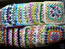 ASSORTED CROCHET COTTON WASH DISHCLOTH SURPRISE COLORS