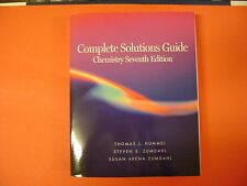 Complete Solutions Guide for Chemistry 7th Edition by Zumdahl