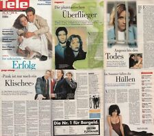 Tele Schweiz David Duchovny und Gillian Anderson,Beatrice Dalle,Sex Pistols