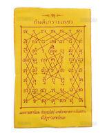 Yantra Phra Yant Diamond Twins O Thailandia Talismano IN Tessuto- 6381