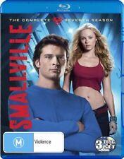 Smallville : Season 7 (Blu-ray, 2009, 3-Disc Set)
