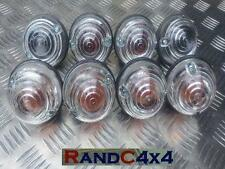 Land Rover Defender 300 Tdi Clear White Light Set Upgrade Lamp lens Kit 90 110