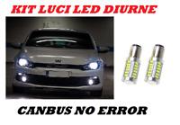 LUCI DIURNE LED P21W VW SCIROCCO NO ERROR CANBUS
