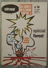 Schtroumpf  n° 26 Les cahiers de la bande dessinée Spécial Forest