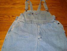 Vintage Van Cort Denim Bib Overalls Work Pants Farmer Carpenter - Size L (36)