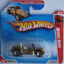 Hot Wheels – Meyers Manx VW Buggy goldmet. nuevo/en el embalaje original