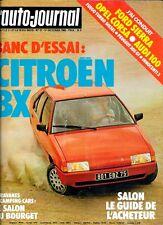L' AUTO-JOURNAL n° 17 . 1° octobre 1982 . Banc d' essai Citroen BX 16 TRS .
