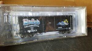 Kadee Cars 6902 Celebrating America 2005 40' PS-1 Boxcar - Single 8' Youngstown