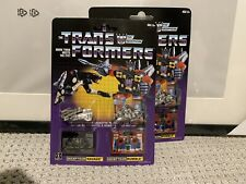 🔥RARE🔥 NEW Transformers Decepticon Cassettes G1 Walmart Reissue Ravage Rumble